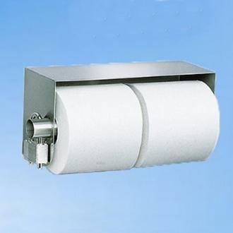 Stainless Steel Toilet Paper Dispenser Lockable 2 Roll