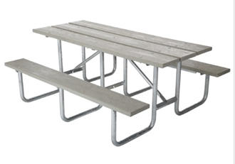 Ft Heavy Duty Commercial Outdoor Park Picnic Table Frame Kit RV - Heavy duty picnic table frames